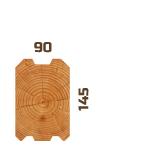 Профилированный брус 100х150