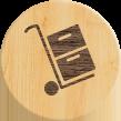 Деревяный профилированный брус