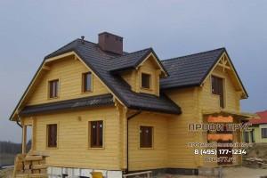 дом из профилированного бруса естественной влажности