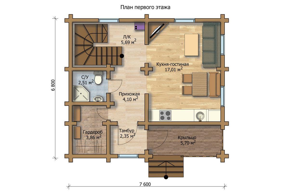 или галогенные план дома с верандой фото помощью воска