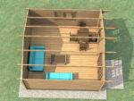 Садовые домики из минибруса